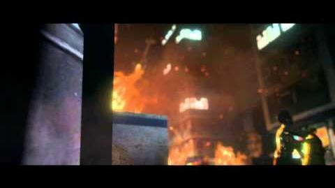 Resident Evil 6 all cutscenes - Zombie Wasteland (Ada's version)