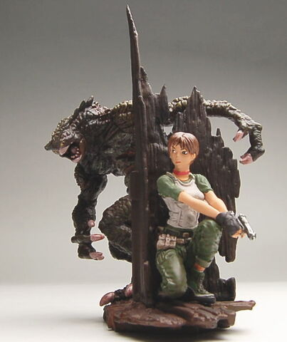 File:Biohazard Figure Collection - Rebecca Chambers vs. Hunter.jpeg