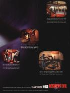 Resident Evil poster - GamePro April 1996 - page 27