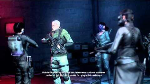 Resident Evil Operation Raccoon City cutscenes -c
