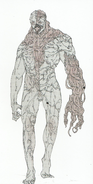 BIOHAZARD REVELATIONS 2 Concept Guide - Monster Neil concept art 3