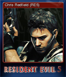 File:Steam Card - Chris Redfield (RE5).png