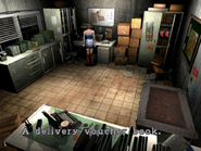 Resident Evil 3 Nemesis screenshot - Uptown - Warehouse office examine 02