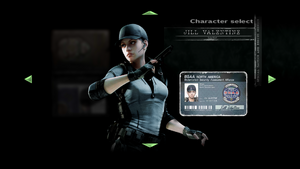 Jill BSAA Character Select.png