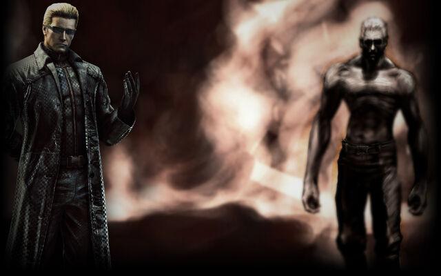 File:Resident Evil 5 Biohazard 5 Background Albert Wesker (RE5).jpg