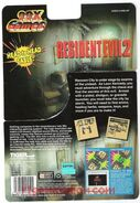 Resident Evil 2 Tiger 99x - package rear