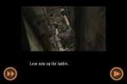 RE4 mobile edition - Rescue Ashley cutscene 2