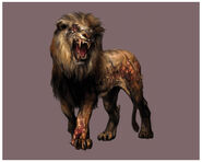 Resident Evil Outbreak - Zombie Lion (Male) CG art 2