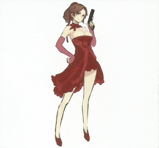 File:BIOHAZARD REVELATIONS 2 Concept Guide - Party Dress Claire.png