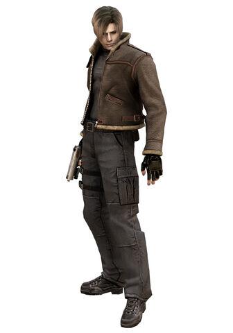 File:Resident Evil 4 - Leon Scott Kennedy with jacket render.jpg