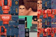 BIOHAZARD 1.5 textures - Leon RPD armor (November 1996 build)