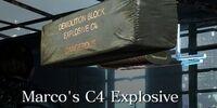 Marco's C4 Explosive