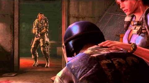 Resident Evil Revelations all cutscenes Episode 12-1 (Horrors of Dido)