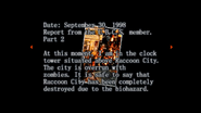 Survivor file - Report on destroyed Raccoon City - page 5