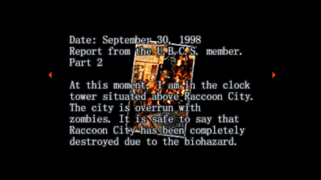 File:Survivor file - Report on destroyed Raccoon City - page 5.png