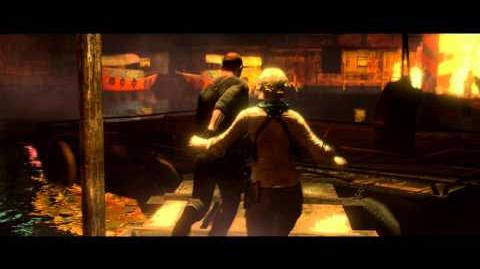Resident Evil 6 all cutscenes - To the Boat (Jake's version)