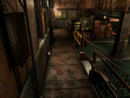 Resident Evil 3 background - Uptown - warehouse h - R10102