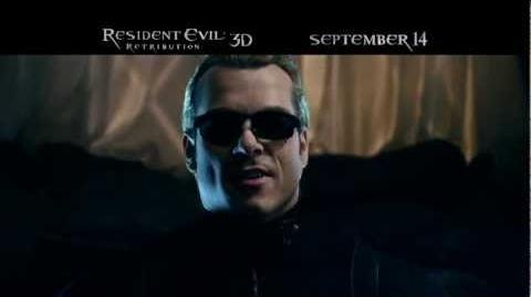 RESIDENT EVIL RETRIBUTION (3D) TV spot 1