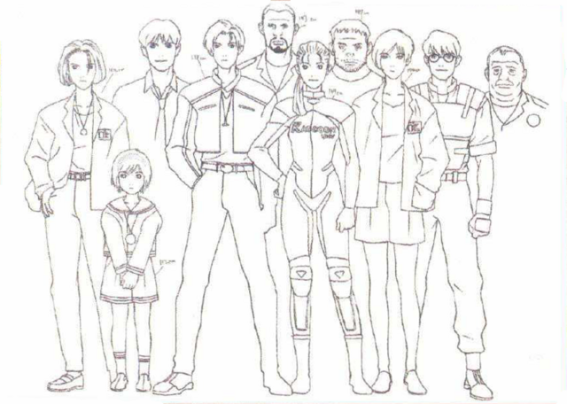 File:BIOHAZARD 1.5 concept artwork - early character height chart version 2.png