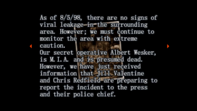 File:Survivor file - Report on destroyed Raccoon City - page 3.png