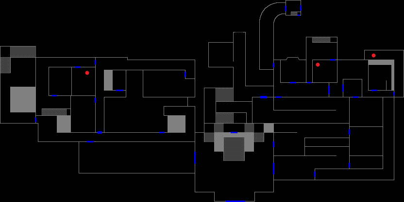 Mansion 1F - kerosene map