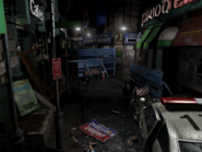 Resident Evil 3 background - Uptown - boulevard f2 - R11E05