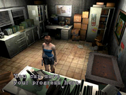Resident Evil 3 Nemesis screenshot - Uptown - Warehouse office examine 07