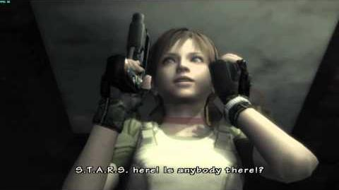 Resident Evil The Umbrella Chronicles all cutscenes - Train Derailment 1 opening