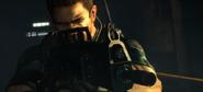 Chris aiming