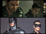 Chris and Batman