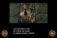 RE4 mobile edition - Rescue Ashley cutscene 5 part 19