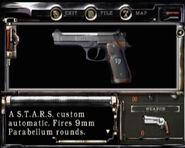RE1 starshandgun