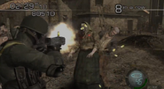 Resident Evil 4 Mercenaries example