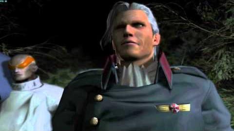 Resident Evil The Umbrella Chronicles all cutscenes - Nightmare 2 scene 1