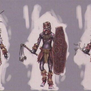 Концепт-арт Племенного Маджини