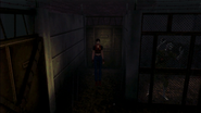 Resident Evil CODE Veronica - square in front of the guillotine - gameplay 01