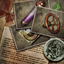 Umbrella Chronicles Trophy icon - Archive Collector