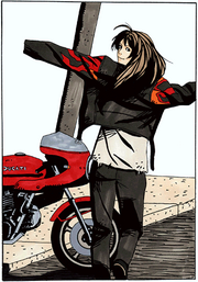 BH2-Elza 1.5 Biker Jacket artwork