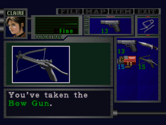 File:RE2 Bow Gun pickup 02.png