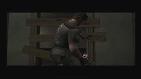 Block Staff Door (Resident Evil Outbreak cutscene)