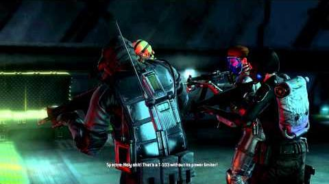 Resident Evil Operation Raccoon City all cutscenes - Super Tyrant (Spectre)