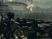 Oil field dock in-game (RE5 Danskyl7) (6)