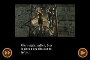RE4 mobile edition - Rescue Ashley cutscene 5 part 23