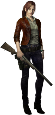 Resident Evil Revelations 2 - Claire Redfield render