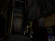 Resident Evil 3 background - Uptown - warehouse back alley e1 - R10204