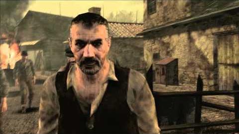 Resident Evil 4 all cutscenes - Chapter 1-1 Scene 5