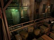Resident Evil 3 background - Uptown - warehouse i - R10107
