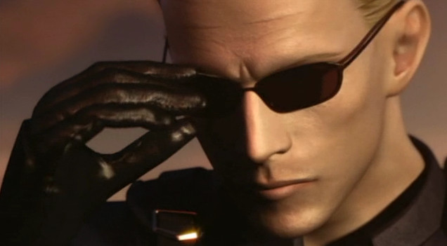 Arquivo:Albert Wesker Resident Evil Darkside Chronicles Appearance.jpg