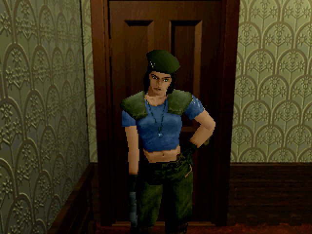 File:Resident Evil Sega Saturn - Jill Valentine exclusive costume.png