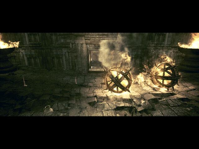 File:Ancient village in-game RE5 (Danskyl7) (21).jpg